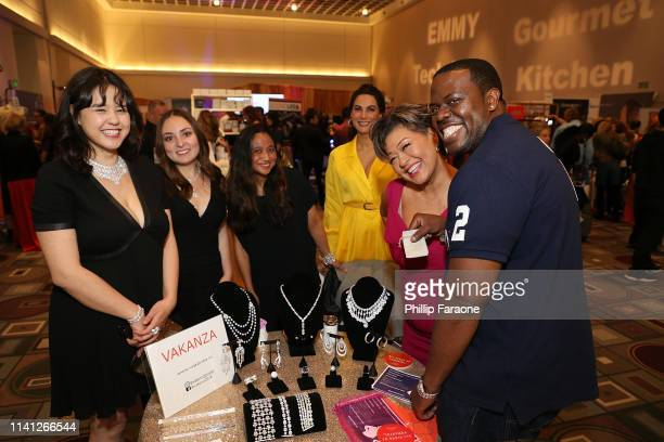 Jermel Wilson attends the Daytime Emmy Awards PreAwards Networking Party/Gift Lounge at Pasadena Convention Center on May 4 2019 in Pasadena...