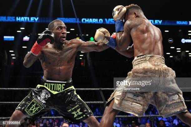 Jermell Charlo defeated Charles Hatley knockout in the sixth round to defend his WBC Super Welterweight World Championship on April 22 at the...