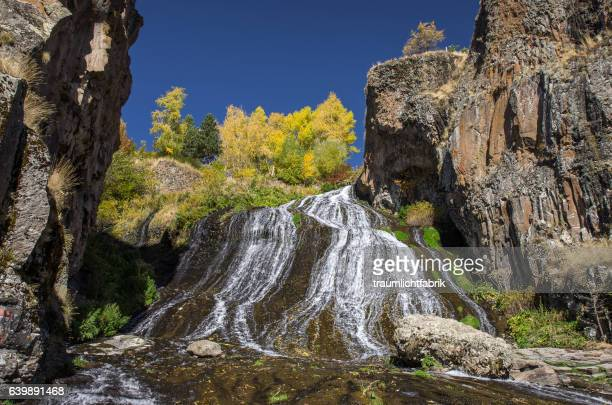 jermuk waterfalls - armenia stock pictures, royalty-free photos & images