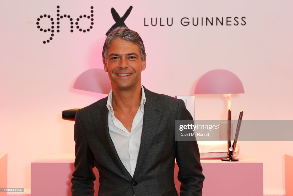Jeroen Temmerman, ghd CEO, attends the launch of the new ghd x Lulu Guinness collection, which raises money for Breast Cancer Now, at One Belgravia on July 11, 2018 in London, England.