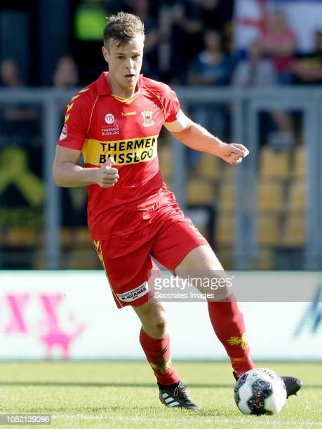 Jeroen Veldmate of Go Ahead Eagles during the Dutch Keuken Kampioen Divisie match between Go Ahead Eagles v Roda JC at the De Adelaarshorst on...