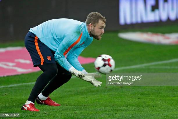Jeroen Zoet of Holland during the match between Training Holland in Bucharest at the Arena Nationala on November 13 2017 in Bucharest Romania