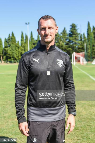 Jerome ARPINON head coach of Nimes during the friendly match between Nimes and Nimes B on July 18, 2020 in Nimes, France.