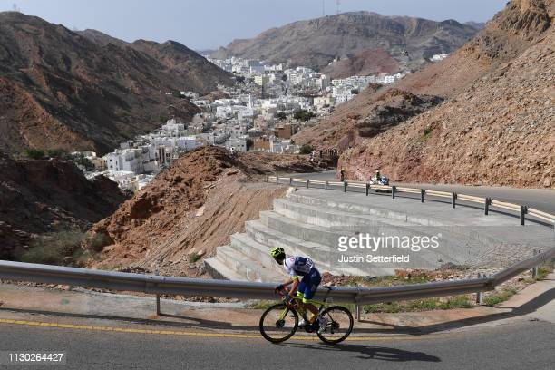 Jerome Baugnies of Belgium and Team Wanty Groupe Gobert / Climb of Al Hamriyah / Al Hamriyah City / Landscape / Peloton / during the 10th Tour of...