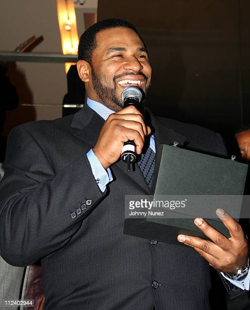 Jerome Bettis during Black Sport Agents Association presents the 2006 Achievement Awards and After Party Sponsored by Hennessy at Tribeca Penthouse...