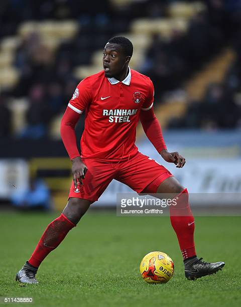 Jerome BinnomWilliams of Leyton Orient in action during the Sky Bet League Two match between Notts County and Leyton Orient at Meadow Lane on...