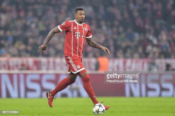 Jerome Boateng of Bayern Muenchen during the UEFA Champions League Round of 16 First Leg match between Bayern Muenchen and Besiktas at Allianz Arena...