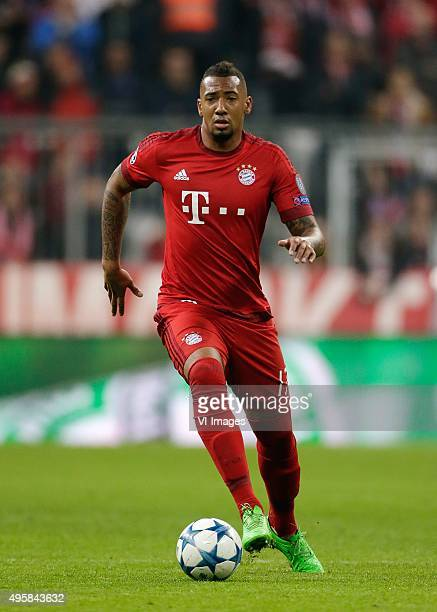 Jerome Boateng of Bayern Munchen during the Champion League group F match between FC Bayern Munich and Arsenal FC on November 4 2015 at the Allianz...