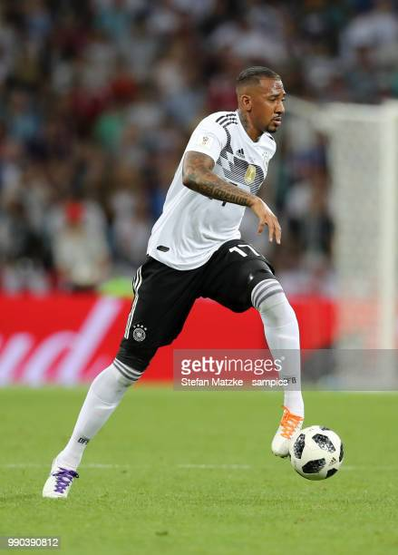 Jerome Boateng of Germany during the 2018 FIFA World Cup Russia group F match between Germany and Sweden at Fisht Stadium on June 23 2018 in Sochi...