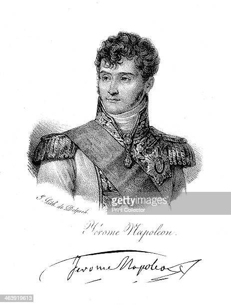 Jerome Bonaparte brother of Napoleon c1820 Jerome was King of Westphalia from 18071813 He served in Napoleon's Russian campaign and at the Battle of...