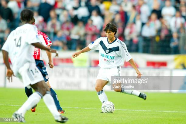 Jerome BONNISEL during the Ligue 1 championship match between Lille and Bordeaux on August 3 2002 in Lille France