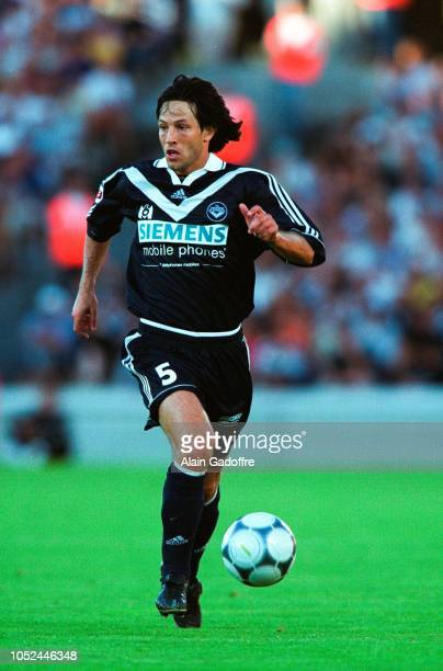 Jerome BONNISSEL during the Division 1 match between Bordeaux and Metz on July 29 2000 in Bordeaux France