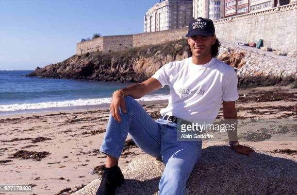 Jerome Bonnissel of Deportivo La Coruna during a photoshoot on October 3 1996 in Coruna Spain Alain Gadoffre / Onze / Icon Sport