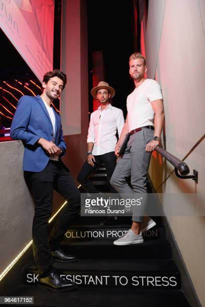 Jerome C and some guests attend the #Ultimune Launch Event on May 31 2018 in Paris France