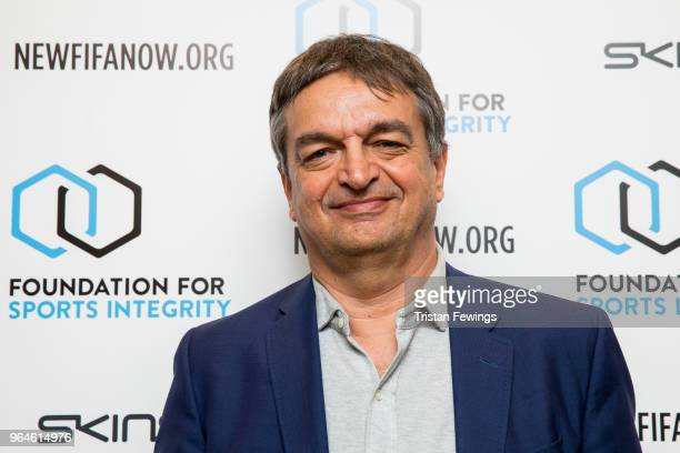 Jerome Champagne attends The Foundation For Sports Integrity inaugural 'Sports Politics and Integrity Conference' at Four Seasons Hotel on May 31...
