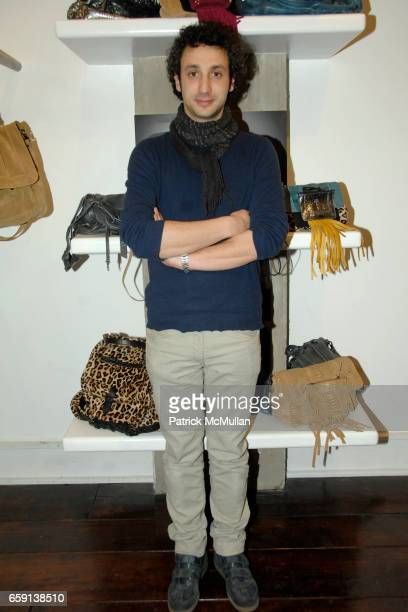 Jerome Dreyfuss attends JEROME DREYFUSS Fall/Winter 2009 Collection at LUDIVINE Uptown at Boutique Ludivine on February 19 2009 in New York City