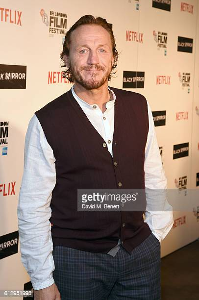 Jerome Flynn attends the LFF Connects Television 'Black Mirror' event during the 60th BFI London Film Festival at Chelsea Cinema on October 6 2016 in...