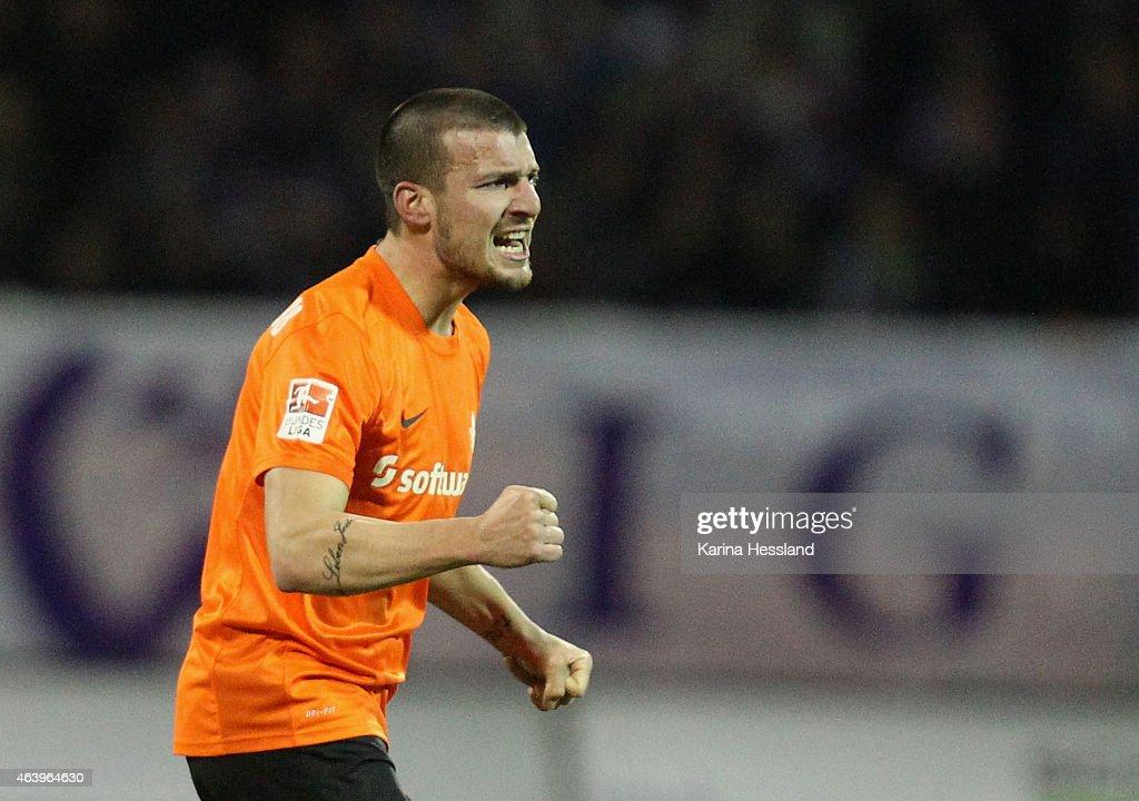 Erzgebirge Aue v SV Darmstadt  - 2. Bundesliga : News Photo