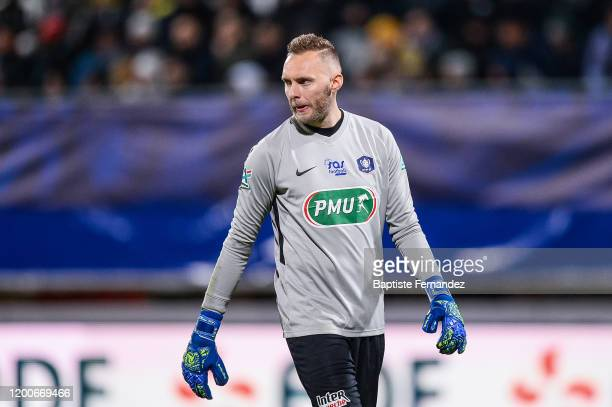 Jerome IDIR of Epinal during the French Cup Soccer match between Epinal and Saint-Etienne on February 13, 2020 at Stade Marcel Picot in Nancy, France.