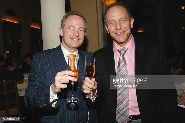 Jerome Jeandin and Greg Gregory attend SAVORING CITYMEALS an intimate Sunday Dinner with DANIEL BOULUD to Benefit CITY MEAL ON WHEELS at Restaurant...