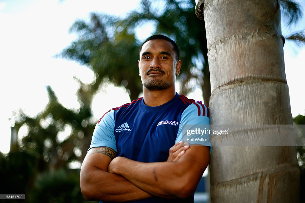 Jerome Kaino after a Blues Super Rugby press conference at Unitec on March 31, 2015 in Auckland, New Zealand. Jerome Kaino today announced that he has committed himself for the next three years to New Zealand Rugby, the Blues and Auckland Rugby.