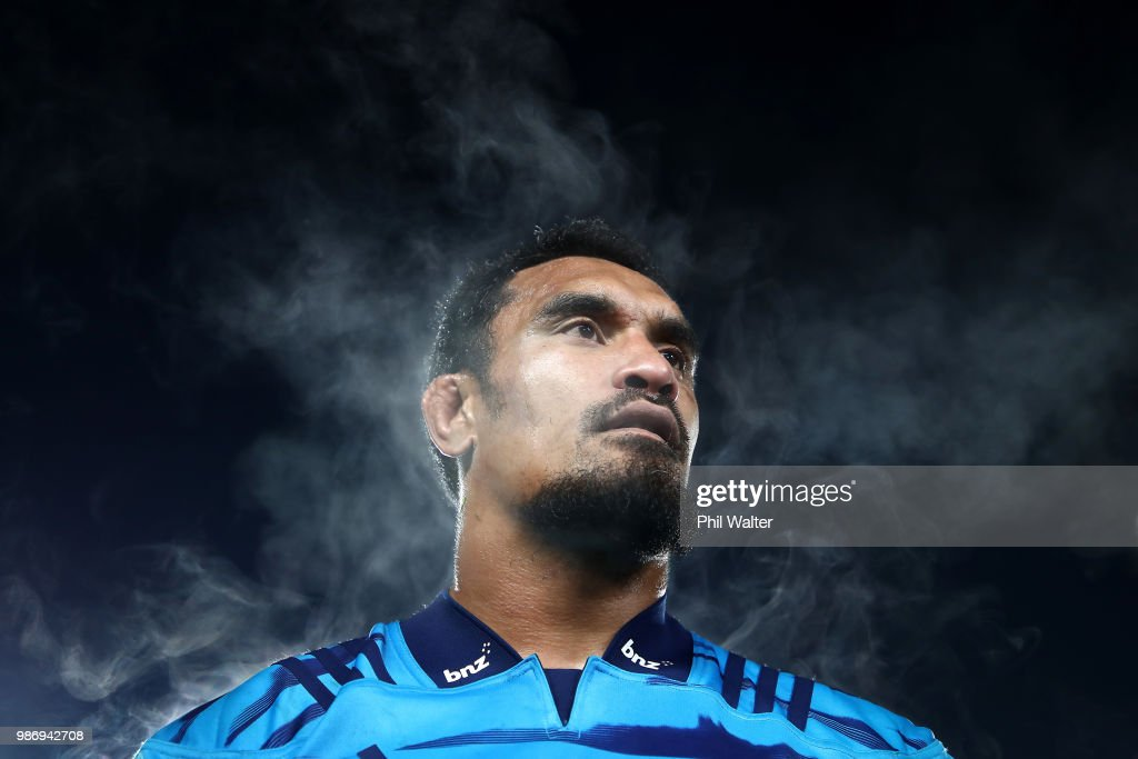 Jerome Kaino of the Blues following the round 17 Super Rugby match between the Blues and the Reds at Eden Park on June 29, 2018 in Auckland, New Zealand.