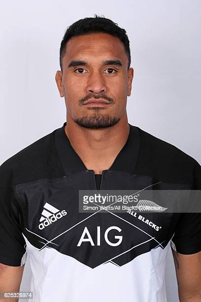 Jerome Kaino poses during the All Blacks End of Year Tour 2016 Headshots Session at Auckland International Airport Novotel on October 28 2016 in...