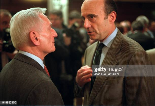 Jerome Monod and Alain Juppe