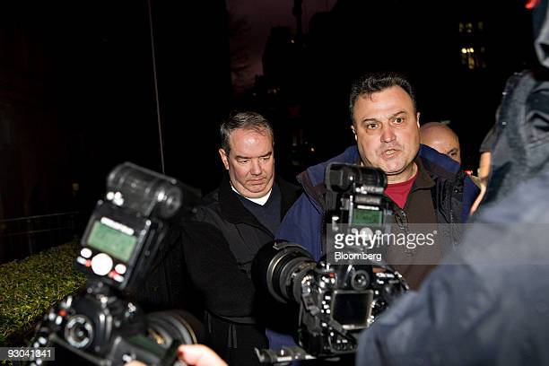 Jerome O'Hara left exits federal court in New York US on Friday Nov 13 2009 O'Hara is one of two computer programmers who worked in Bernard Madoff's...