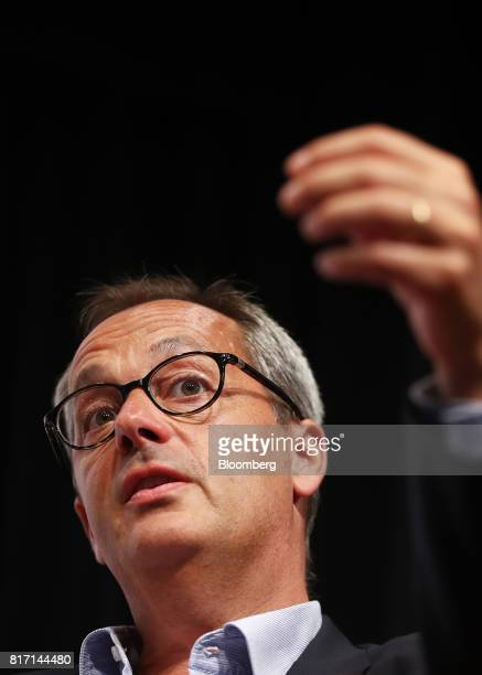 Jerome Pecresse chief executive officer of GE Renewable Energy speaks at the Clean Energy Summit in Sydney Australia on Tuesday July 18 2017 Several...