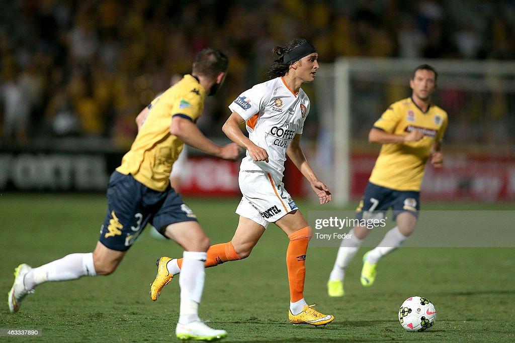 A-League Rd 17 - Central Coast v Brisbane