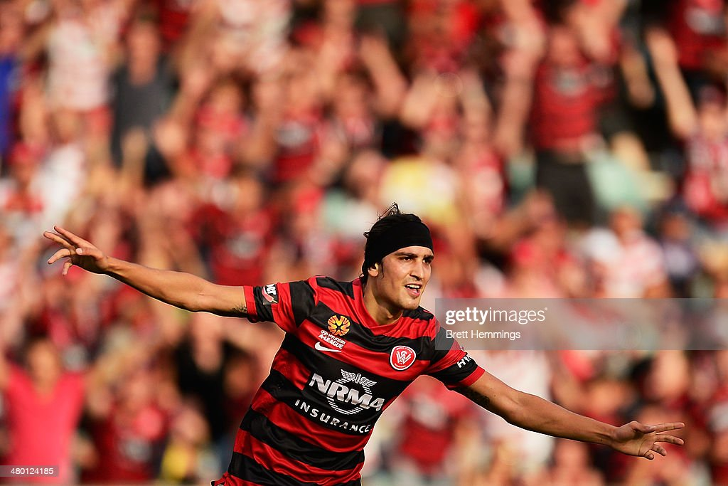 A-League Rd 24 - Western Sydney v Perth