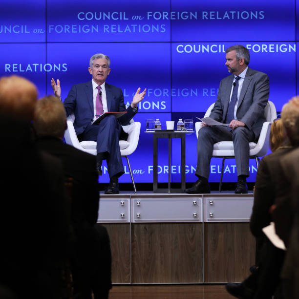 NY: Federal Reserve Chair Jerome Powell Speaks At The Council Of Foreign Relations In New York