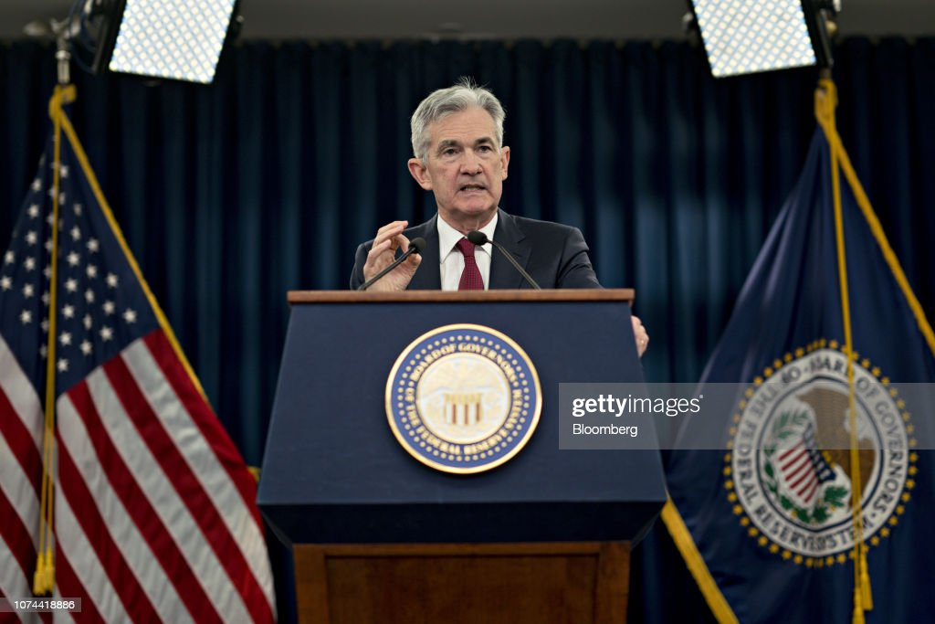 Federal Reserve Chairman Jerome Powell Holds News Conference Following FOMC Rate Decision : Foto di attualità