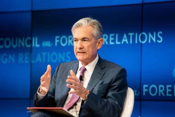 NY: Fed Chairman Jerome Powell Speaks At The Council On Foreign Relations