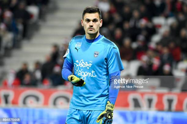 Jerome Prior of Bordeaux during the Ligue 1 match between OGC Nice and FC Girondins de Bordeaux at Allianz Riviera on December 17 2017 in Nice