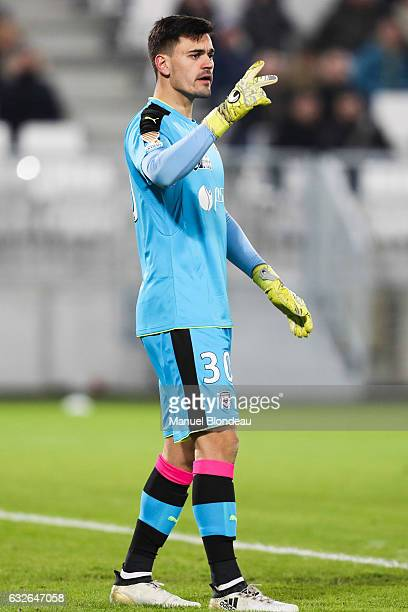 Jerome Prior of Bordeaux during the Semi Final League Cup match between Bordeaux and Paris Saint Germain at Stade Matmut Atlantique on January 24...
