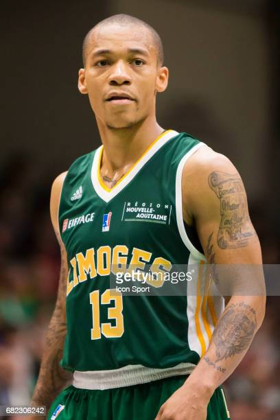 Jerome Randle of Limoges during the Pro A match between Nanterre and Limoges on May 6 2017 in Nanterre France