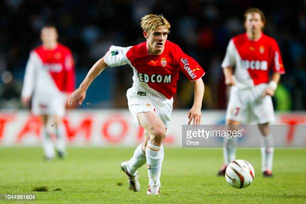Jerome ROTHEN during the Ligue 1 match between Monaco and Marseille on May 9 2004 in Monaco