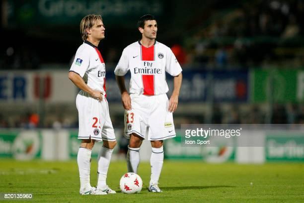Jerome ROTHEN / Pierre Alain FRAU Le Mans / PSG 6eme journee de Ligue 1