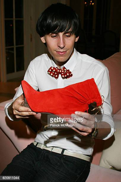 Jerome Rousseau attends Florence Serge Azria Host Mothers Against Gang Violence Benefit at Private Residence on August 13 2008 in Beverly Hills CA