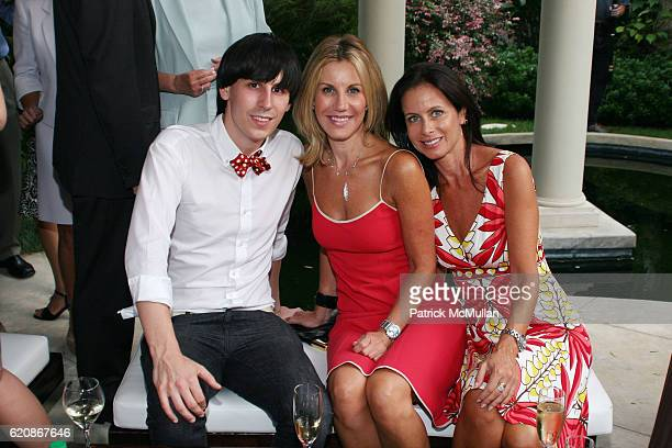 Jerome Rousseau Bridget Assil and Debra Davidson attend Florence Serge Azria Host Mothers Against Gang Violence Benefit at Private Residence on...