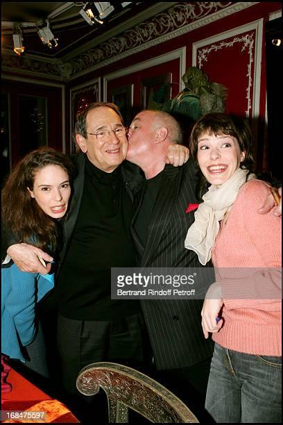 Jerome Savary Daughters Manon And Nina Robert Hossein At Celebrities On 93 Faubourg Saint