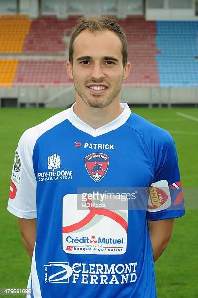 Jerome SCOLAN Portraits officiels Clermont Ligue 2 Jean Paul Thomas / Icon Sport/MB Media