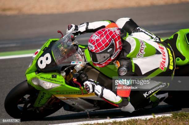 Jerome Tangre Team Bolliger championnat du monde endurance Moto Course Circuit Nevers Magny cours Photo Alain Bourdaux / Icon Sport