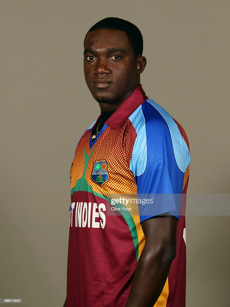 Jerome Taylor of West Indies poses during a portrait session ahead of the ICC T20 World Cup at the Pegasus Hotel on April 26, 2010 in Georgetown, Guyana.