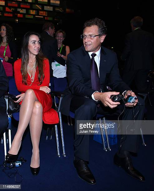 Jerome Valcke Secretary General of FIFA takes his seat before the 61st FIFA Congress Opening Ceremony at Hallenstadion on May 31 2011 in Zurich...