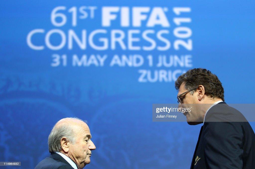61st FIFA Congress : News Photo