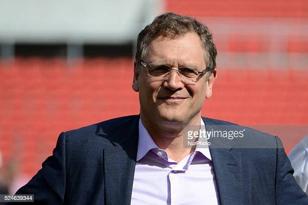 CUP Jerome Valcke Secretary General of FIFA visit the Beira Rio stadium to inspect it for the Fifa world cup Brasil 2014