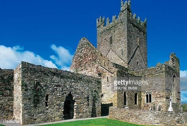 Jerpoint Abbey Cistercian abbey founded in 1158 County Kilkenny Ireland